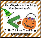 Mr. Alligator Halloween {an Adapted Book for Preschool and Kindergarten}