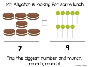 Mr. Alligator Halloween {an Adapted Book for Preschool and Kindergarten}