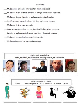 Mr. Bean Spanish MovieTalk