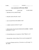 Mr Bean's Holiday Questions French 1 Movie France easy to