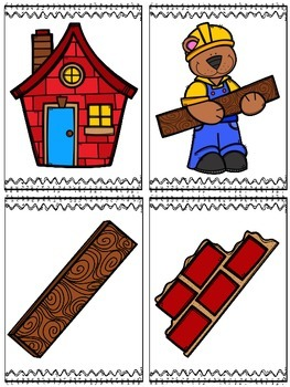 Mr. Bear Builds A Brick House (A Sight Word Emergent Reader)