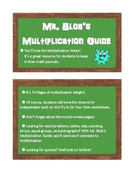 Mr. Blob's Multiplication Guide