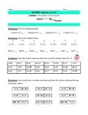 Mr. Blob's Multiplication Mix