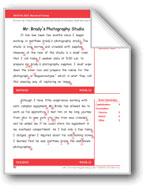 Mr. Brady's Photography Studio (Gr. 5/Week 21)