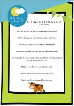 Mr. Brown Can MOO! Can You? - Guided Reading