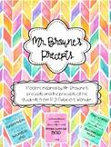 Mr. Browne's Precepts Poster Collection - Wonder!