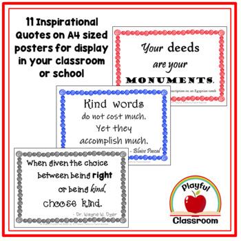 Mr. Browne's Precepts - Wonder Poster Pack
