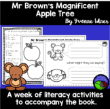 Mr Brown's Magnificent Apple Tree by Yvonne Winer ~ A week