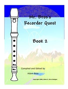 Mr. Brox's Recorder Quest: Book 2