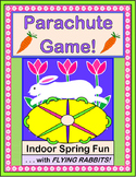 """Mr. Bunny, Gonna Fly?"" - Parachute Game and Rhymes for Cooperative Play"