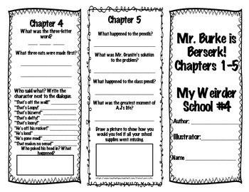 Mr. Burke is Berserk! Brochures and Final Assessment NO PREP!