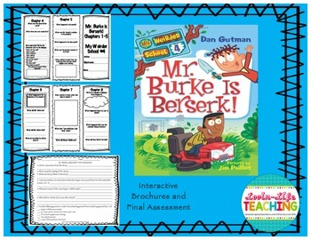 Mr. Burke is Berserk! Brochures and Final Assessment NO PREP!