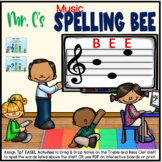 Mr. C's Music Spelling Bee Task Cards
