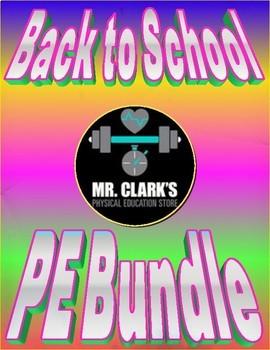 Mr. Clark's Back to School PE Bundle