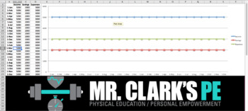 Mr. Clark's Income and Expense Wealth Tracking Chart