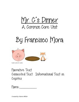 Mr. C.'s Dinner Common Core Unit