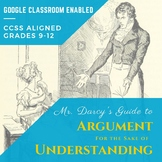 Mr. Darcy's Guide to Argument for the Sake of Understandin