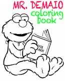Mr. DeMaio Coloring Pages
