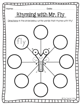 """Mr. Fly! (Long /i/ Sound Spelled """"Y"""")"""
