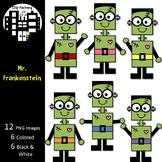 Mr. Frankenstein Clip Art