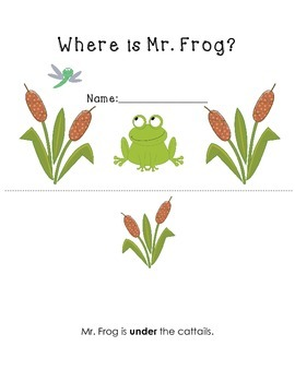 Mr. Frog Positional Word Book (Easy Reader)