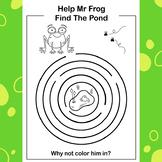 Mr Frog Puzzle Sheet