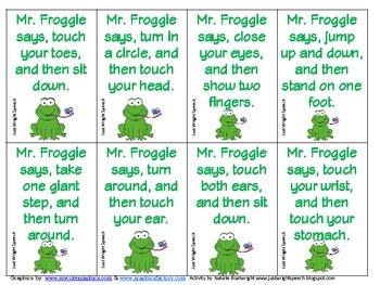 Mr. Froggie Says
