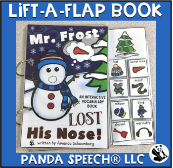 Mr. Frost Lost His Nose! A Lift A Flap Book