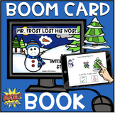 Mr. Frost Lost His Nose BOOM Book (Boom Card Activity) Dis
