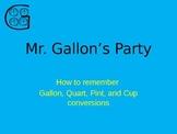 Mr. Gallon's Party