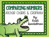 Mr. Gator--Comparing Numbers Anchor Charts & Craftivity