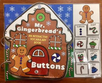Mr. Gingerbread's Buttons? An interactive & adaptive book