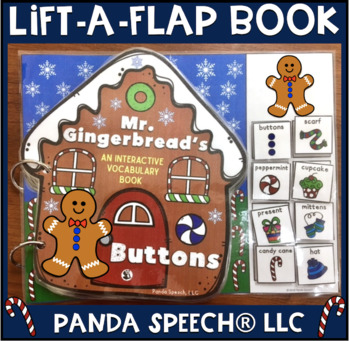 Mr. Gingerbread's Buttons? An interactive & adaptive book