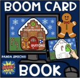 Mr. Gingerbread's Buttons (Boom Card Activity) Distance Learning