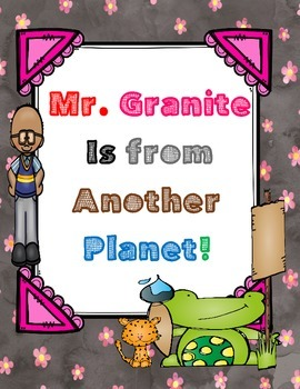 Mr. Granite is from Another Planet! - ( by Dan Gutman) Novel Study Packet