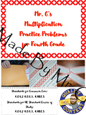 Mr. Griffin's Multiplication Problem Practice