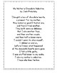 My Mother's Chocolate Valentine by Jack Prelutsky Poetry Center Pack