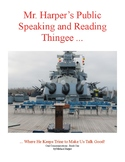 Mr. Harper's Public Speaking and Reading Textbook Thingee