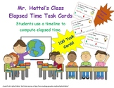 Mr. Hattal's Class Elapsed Time (Timeline) Task Cards