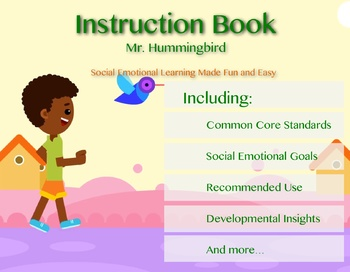 Mr. Hummingbird Instruction Book