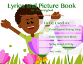 Mr. Hummingbird Lyrics and Picture Book