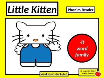 Mr. It ebook (-it word family phonics reader)