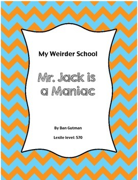 Mr. Jack is a Maniac- book unit
