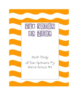 Mr. Klutz is Nuts Book Study