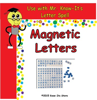 Mr. Know-It's Magnetic Letters