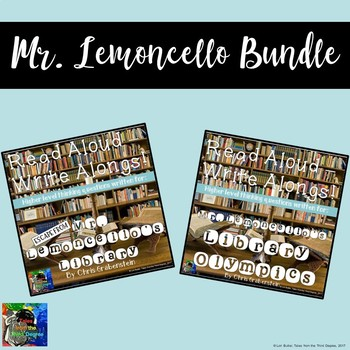 Mr. Lemoncello Book Study Bundle