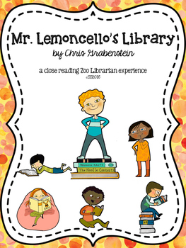 Mr. Lemoncello's Library Close Reading Chapter Questions - Common Core Aligned