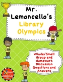 Mr. Lemoncello's Library Olympics Discussion Questions and