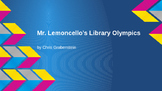 Mr. Lemoncello's Library Olympics Book Study PowerPoint