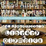 Mr. Lemoncello's Library Olympics Read Aloud Write Along
